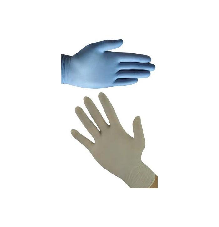 ... Latexové a nitrilové jednorázové rukavice ... 0b87d7e7b7
